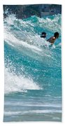 Surfs Up  Beach Towel