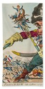 Swallow Destroying The French Army, Beach Towel