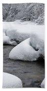 Swift River - White Mountains New Hampshire Usa Beach Sheet