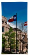 The Bullock Texas State History Museum Beach Towel