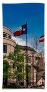 The Bullock Texas State History Museum Beach Towel