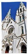 The Cathedral Of St. John The Baptist Beach Towel