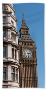 The Clock Tower In London Beach Towel