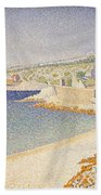 The Jetty At Cassis Opus 198 Beach Towel