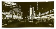 The Las Vegas Strip Beach Towel