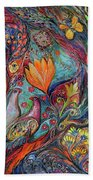 The Magic Garden Beach Towel