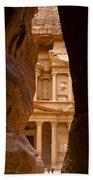 The Treasury Of Petra Beach Sheet