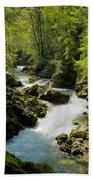 The Vintgar Gorge Beach Towel