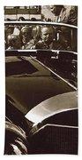 Tom Barrett And Family  High Bidder  Earl Clark At $153,000 Of Adolf Hitlers Mercedes Benz 770k Beach Sheet