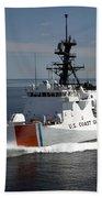 U.s. Coast Guard Cutter Waesche Beach Towel