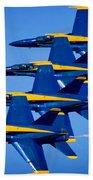 Us Navy Blue Angels Beach Towel