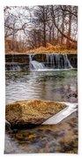 Walnut Creek Waterfall Beach Towel
