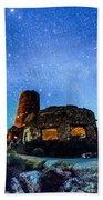 Watchtower Over The Grand Canyon   Arizona Beach Towel