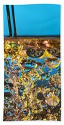 Water And Oil Beach Towel