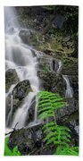 Waterfall In Cradle Mountain Beach Towel