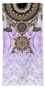 Wave And Jewels Beach Towel