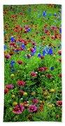 Wildflowers In Bloom Beach Towel