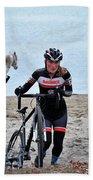 Fearless Femme Racing Beach Towel