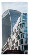 20 Fenchurch Street A Commercial Skyscraper In London Beach Towel