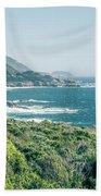 Western Usa Pacific Coast In California Beach Sheet