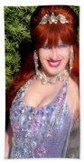 20000 Dollar Dress Of Sofia Metal Queen Beach Towel