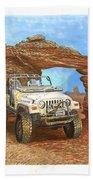 2005 Jeep Rubicon 4 Wheeler Beach Towel