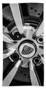 2005 Lotus Elise Wheel Emblem -0079bw Beach Towel
