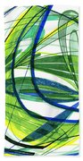 2007 Abstract Drawing 4 Beach Towel
