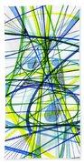 2007 Abstract Drawing 5 Beach Towel