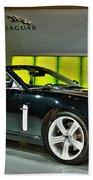 2007 Jaguar Xkr Convertible R No 1 Beach Towel