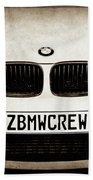 2008 Bmw Grille Emblem -1136s Beach Towel