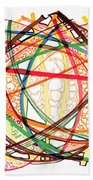 2010 Abstract Drawing Fifteen Beach Towel