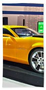 2010 Chevrolet Camaro Beach Towel