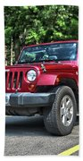 2011 Jeep Wrangler Beach Towel
