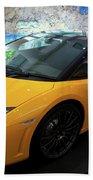 2011 Lamborghini Gallardo Lp560-4 Bicolore 2 Beach Towel