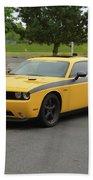 2012 Dodge Challenger Rt Clark Beach Towel