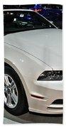 2013 Ford Mustang No 1 Beach Towel