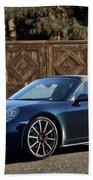 2014 Porsche 911 Targa 4s I Beach Towel