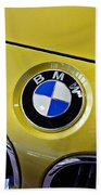 2015 Bmw M4 Hood Beach Towel by Aaron Berg