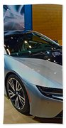 2015 Bmw I8 Hybrid Beach Towel