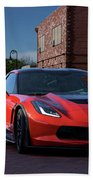 2015 Corvette Stingray  Beach Towel