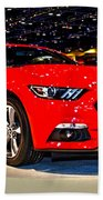 2015 Ford Mustang Coupe I4 Premium Beach Towel