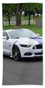 2015 Ford Mustang Gt James Tami Beach Towel