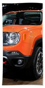 2015 Jeep Renegade Trailhawk Number 3 Beach Towel