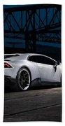 2015 Novitec Torado Lamborghini Huracan 3  1 Beach Towel