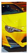 2015 Scion Fr-s Number 2 Beach Towel