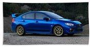 2015 Subaru Wrx Sti Beach Towel
