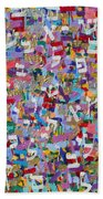2015036 Genesis Chapters 21 And 22 Beach Towel