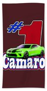2016 Camaro Beach Towel