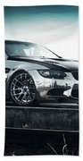 2016 Fostla De Bmw M3 Coupe 2 Beach Towel